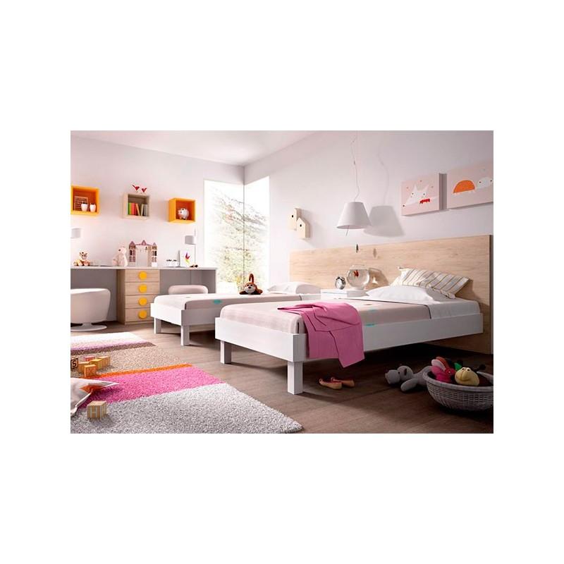 Juvenil h518 de rimobel en arte h bitat for Habitaciones juveniles con cama grande