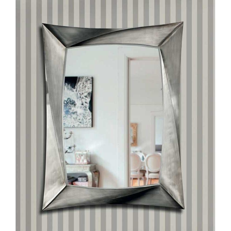 Espejo argento de rosses en arte h bitat for Espejo plateado grande