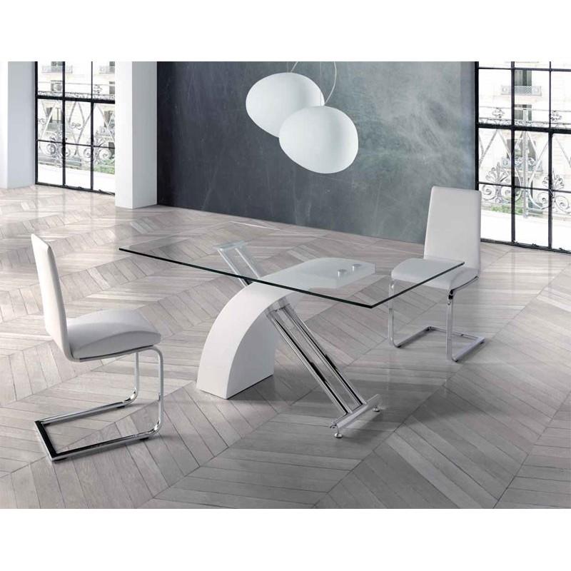 Mesa comedor 407 de anvik en arte h bitat - Habitat mesas comedor ...