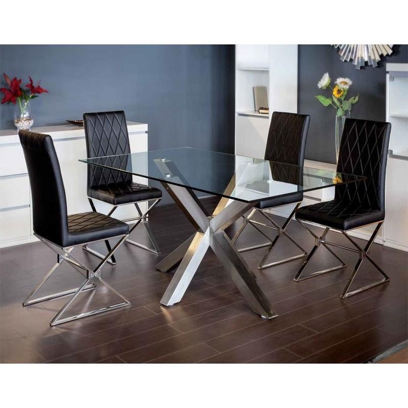 Mesa comedor 419 de anvik en arte h bitat - Habitat mesas comedor ...