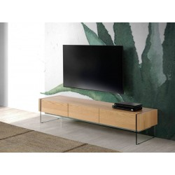 Mueble TV CP1712-TV-ROBLE
