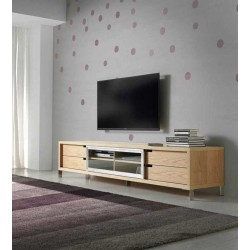 Mueble TV LE30-ROBLE