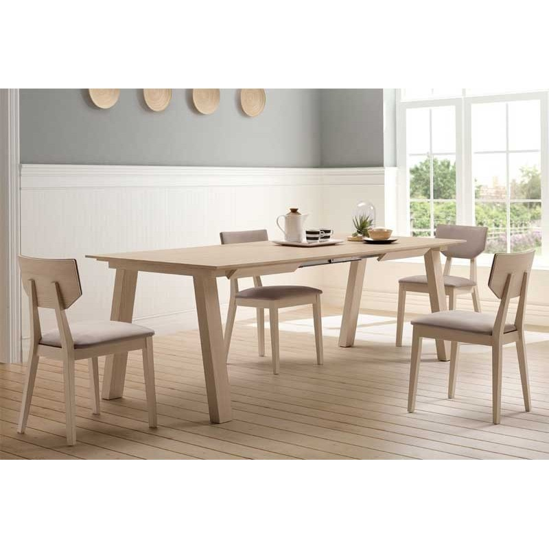 Pack Mesa Comedor Extensible Sillas