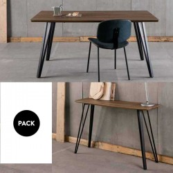 Mesa comedor + Consola CANDI