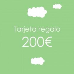 Tarjeta regalo 200 €