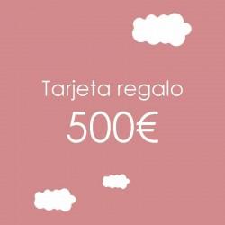 Tarjeta regalo 500 €